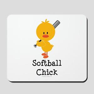 Softball Chick Mousepad