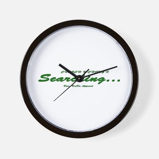 Searching... Wall Clock