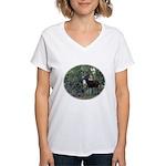 Buck and Doe Women's V-Neck T-Shirt