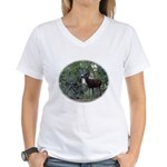 Buck and Doe Women's V-Neck T-Shirt