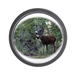 Buck and Doe Wall Clock