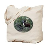 Buck and Doe Tote Bag