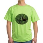Buck and Doe Green T-Shirt