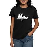 11 Alive BW: Women's Dark T-Shirt