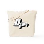 11 Alive BW: Tote Bag