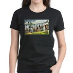Greetings from Minnesota Women's Dark T-Shirt
