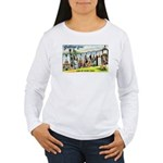 Greetings from Minneso Women's Long Sleeve T-Shirt