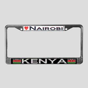 Nairobi, KENYA - License Plate Frame