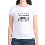 World's Best Mom Jr. Ringer T-Shirt