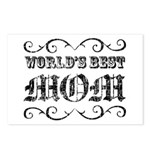 World's Best Mom Postcards (Package of 8)
