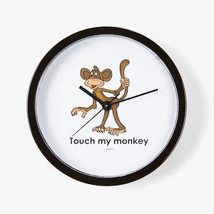 Touch my monkey ~  Wall Clock