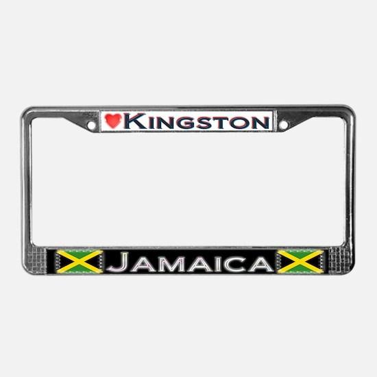 Kingston, JAMAICA - License Plate Frame