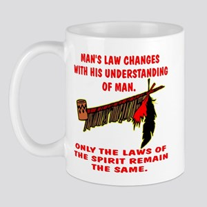 Man's Law or Spirit Law Mug