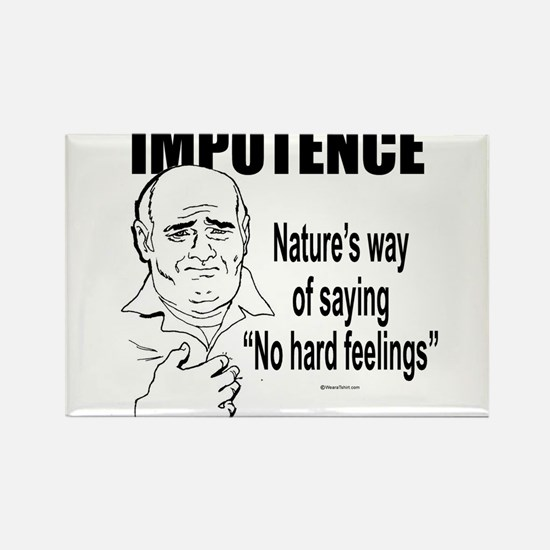 Impotence ~ Rectangle Magnet