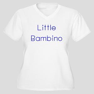 Bambino Women's Plus Size V-Neck T-Shirt