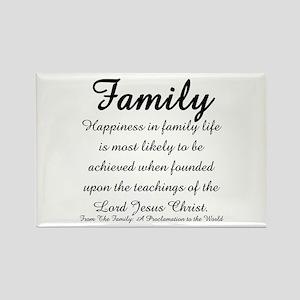 Family Rectangle Magnet (10 pack)