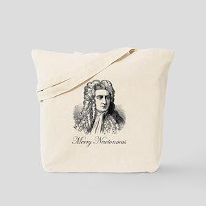 Merry Newtonmas Tote Bag
