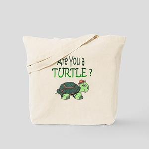 turtle w/back design Tote Bag