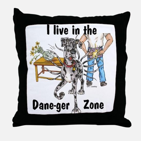 NMrl ILIT Dane-ger Zone Throw Pillow