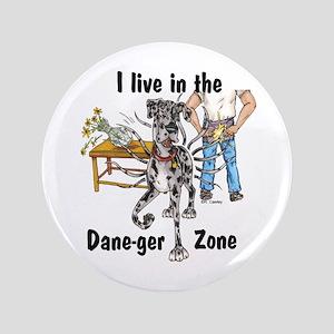 """NMrl ILIT Dane-ger Zone 3.5"""" Button"""