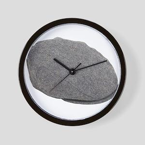 Tweed driving cap Wall Clock