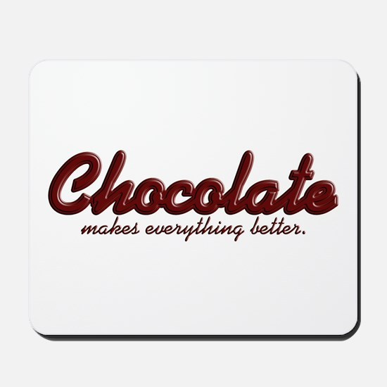 Better Chocolate Mousepad
