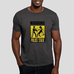 Warning: Police State Dark T-Shirt