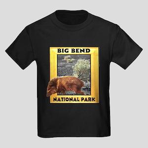 Big Bend National Park Kids Dark T-Shirt