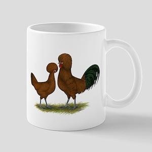 Polish Red Chickens Mug