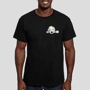 JACK English Goldendoodle Men's Fitted T-Shirt (da