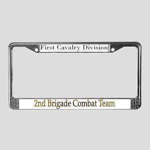 1st Cav Div 2BCT License Plate Frame