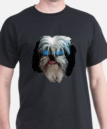 SHIH TZU Ash Grey T-Shirt