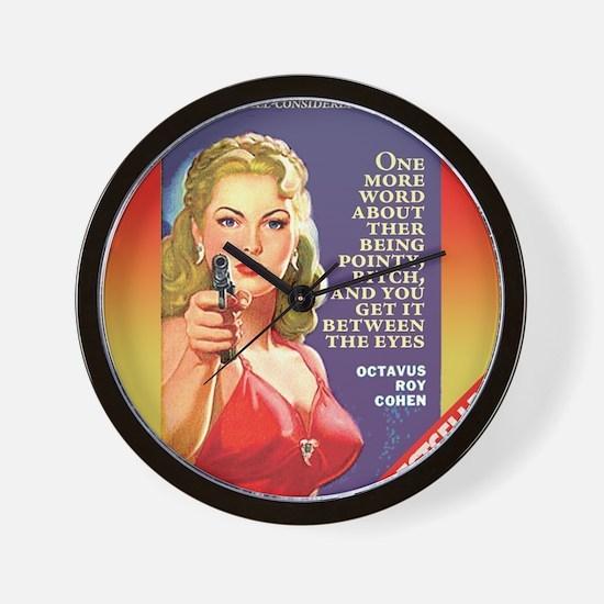 Transgender Bitch Wall Clock