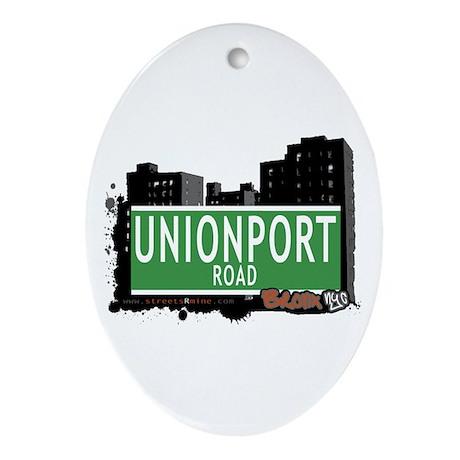 Unionport Rd, Bronx, NYC Oval Ornament