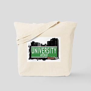 University Av, Bronx, NYC Tote Bag