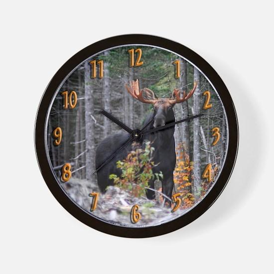 Marty Moose Wall Clock