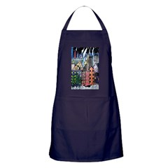 Night Cats On The Prowl Apron (dark)