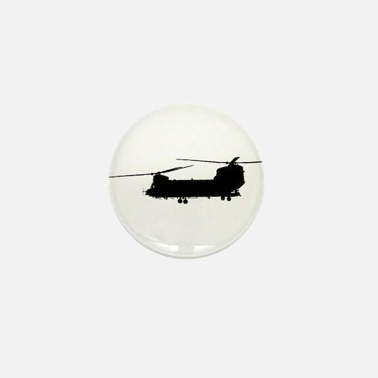 Unique Chinook Mini Button