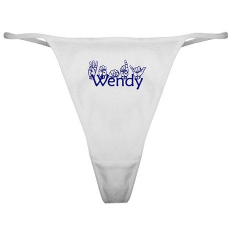 Wendy-bl Classic Thong