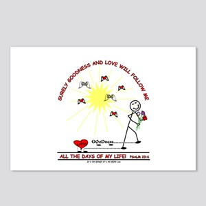 LOVE AND GOoDness Postcards (Package of 8)