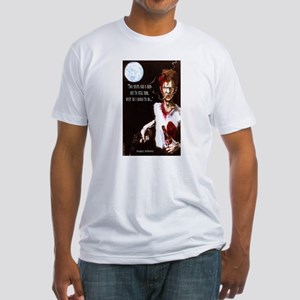 Angry Johnny-Two Shots & A Beer Fitted T-Shirt