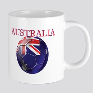 Australia Football 20 oz Ceramic Mega Mug
