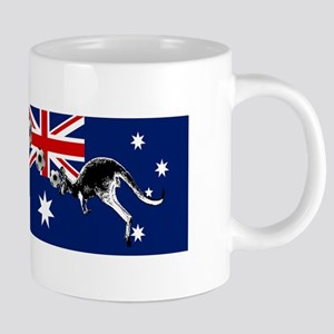 Australian Football Flag 20 oz Ceramic Mega Mug