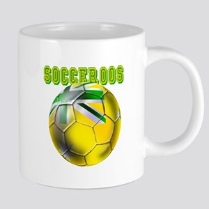 Socceroos Football 20 oz Ceramic Mega Mug