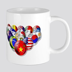World Soccer Balls 20 oz Ceramic Mega Mug