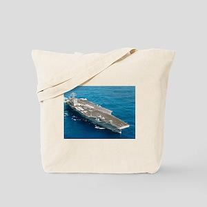 USS Abraham Lincoln Tote Bag