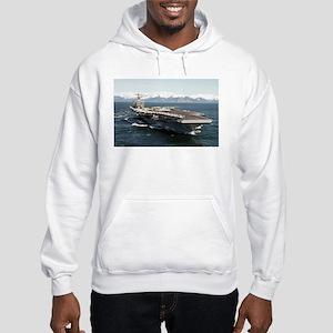 USS Abraham Lincoln CVN 72 Hooded Sweatshirt