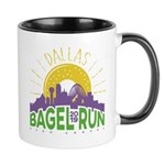 Bagel Run Logo Mugs