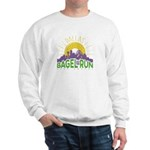 Bagel Run logo Sweatshirt