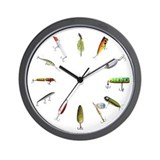 Fishing Wall Clocks